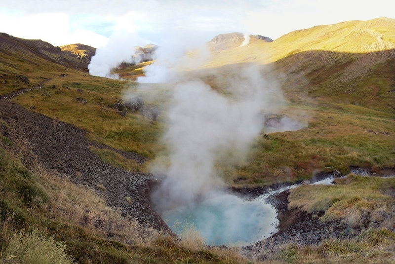 hot spring iceland - best hiking in iceland