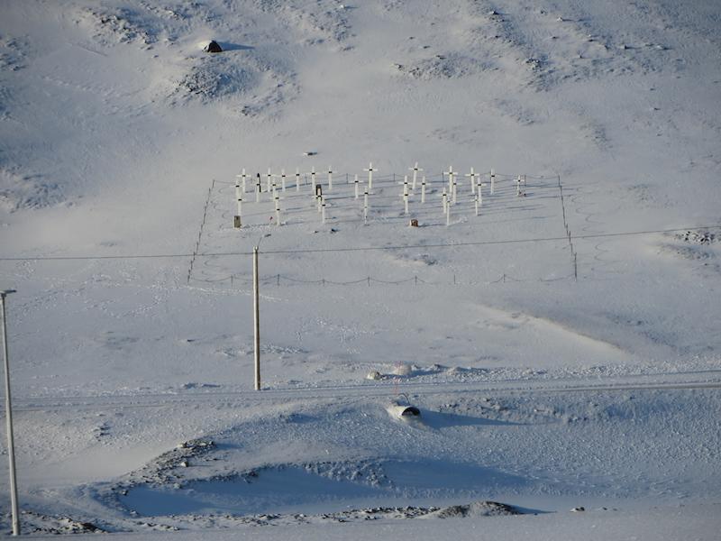 cemetery in longyearbyen