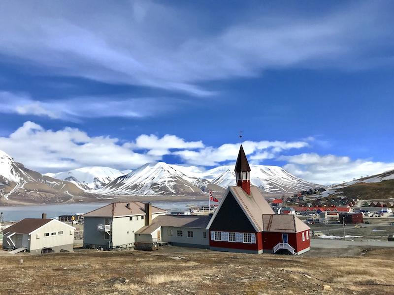 church in longyearbyen most northern town