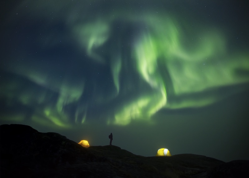 northern lights greenland travel guide