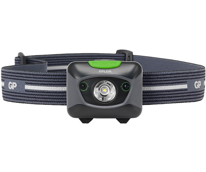 Win GP Batteries head torch