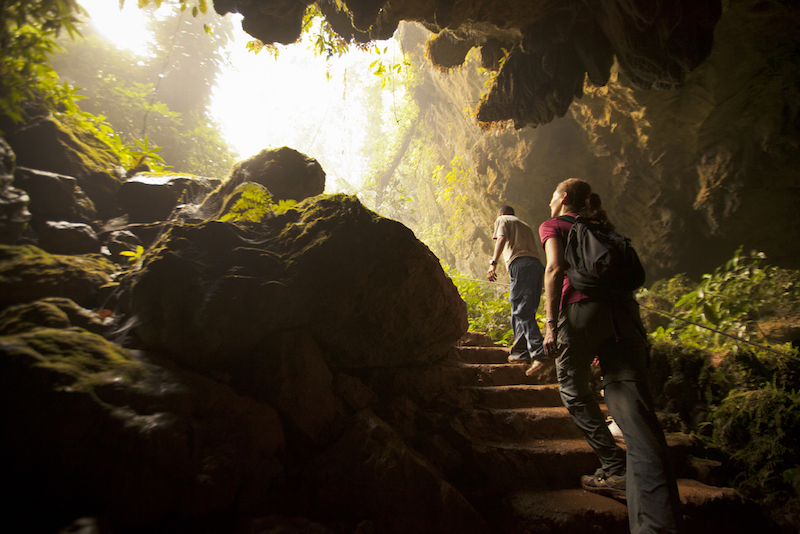 Adventures in Belize jungle trekking