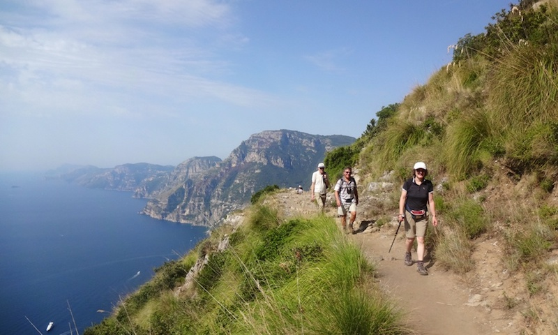 sorrento peninsula - best hiking in Italy