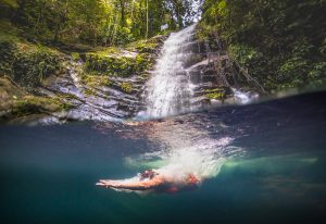 waterfall avdenutures in belize