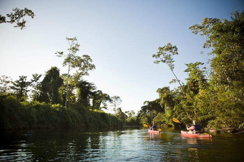 adventure kayaking in belize