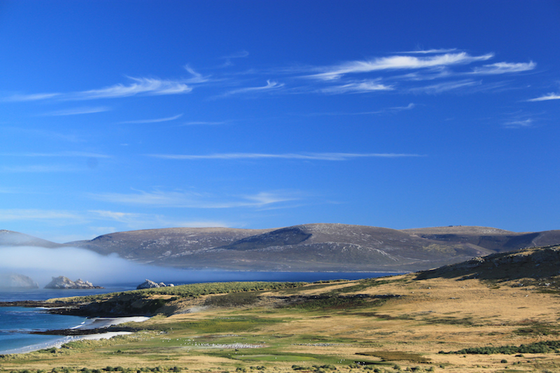 Carcass Island view - best hikes in the falklands