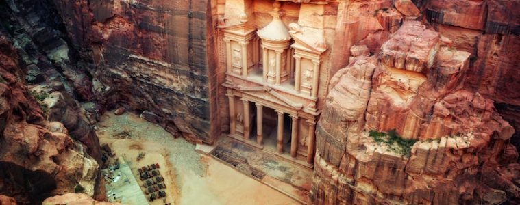 Petra from above