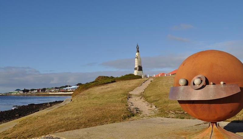 solar system sculpture walk best hikes in the falklands