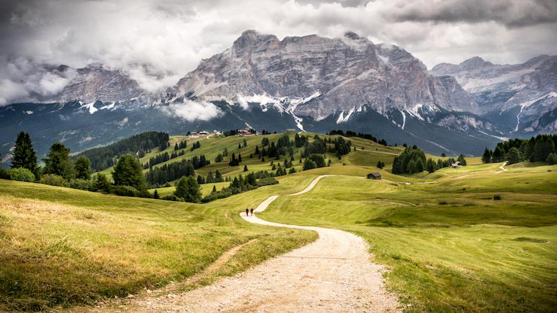 best hikes in alta badia
