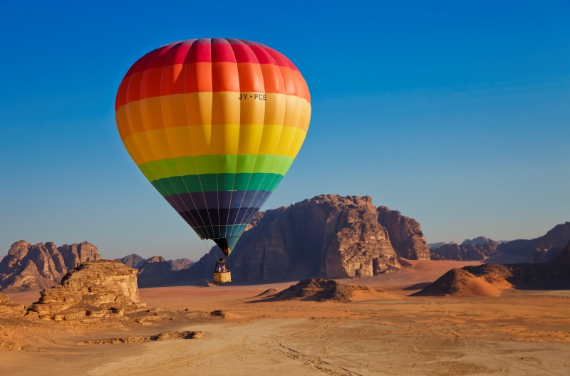 hot air balloon adventures things to do in jordan