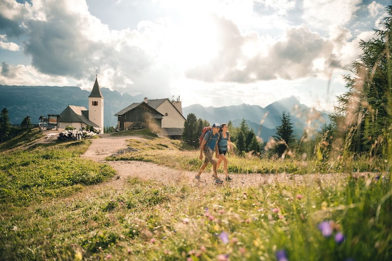 trekking to ciaval peak best hikes in alta badia