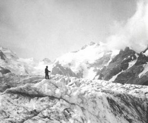 Elizabeth le Blond the world's first mountain filmmaker