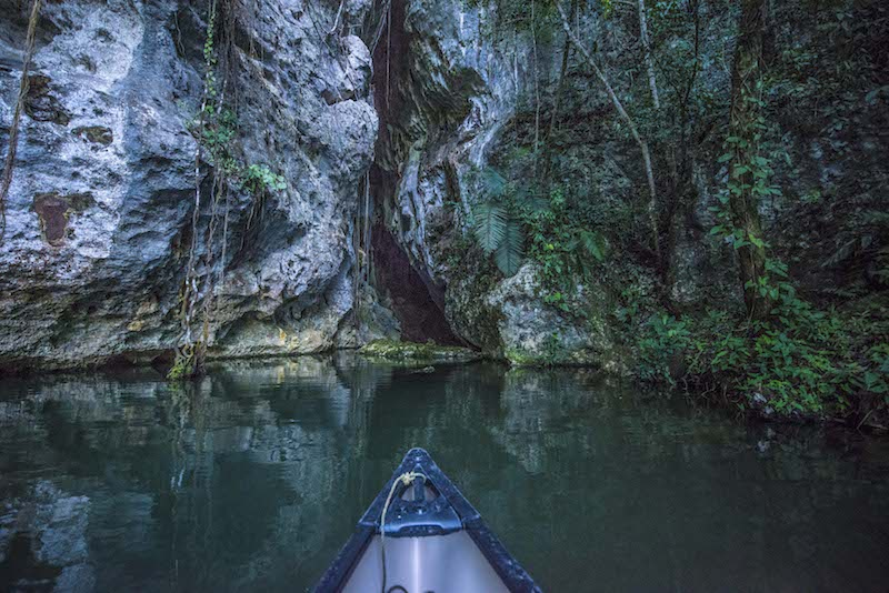 barton creek cave belize sea kayaking event