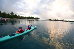 BTB love sea challenge sea kayaking event in belize