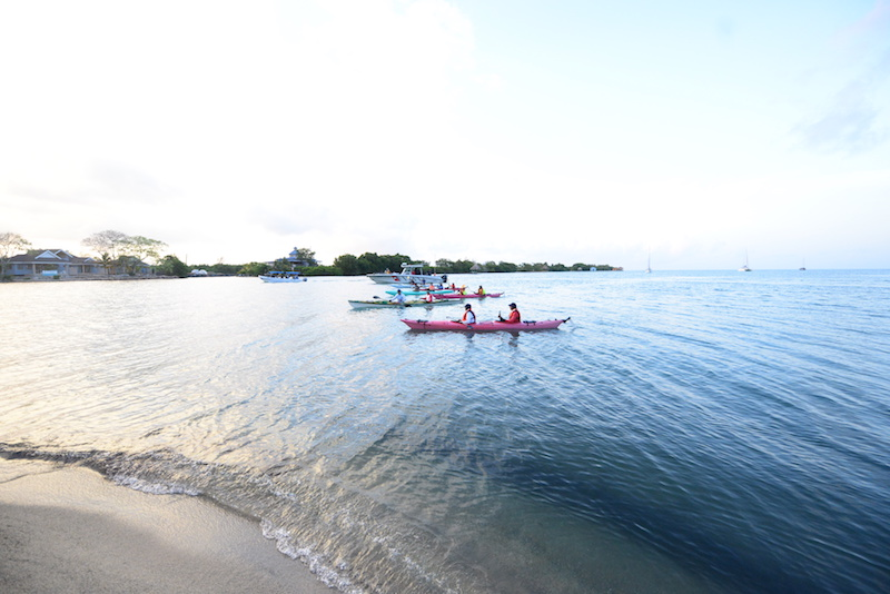 sea kayaking event belize BTB love belize sea challenge