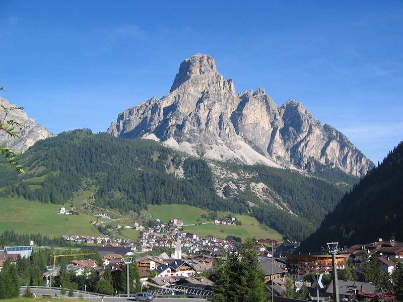 Sassongher peak best hikes in Alta Badia South Tyrol