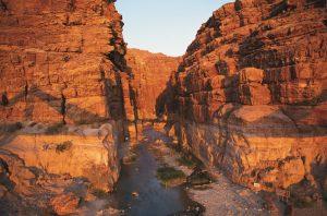 wadi mujib best things to do in Jordan canyoning