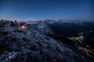alta badia high route camp