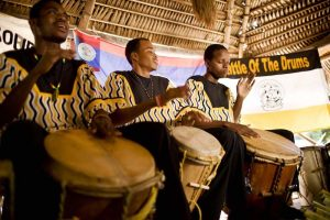 drumming belize sea kayaking event