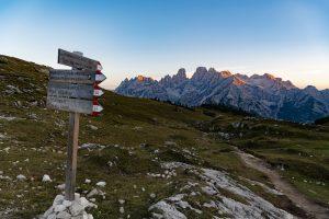 trail 34 alta pusteria alpine ridgeway