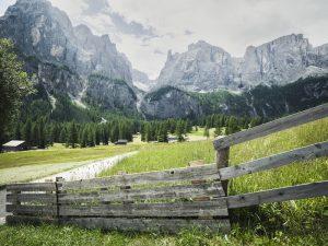 pisciadu waterfall hike - best hikes in alta badia