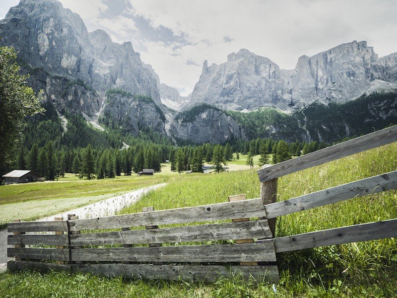 pisciadu waterfall hike - best hikes in alta badia