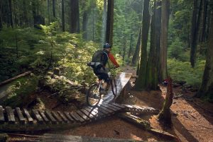 adventurous things to do in vancouver - mountain biking north shore