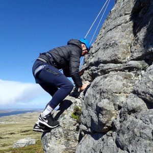 climbing in the falklands