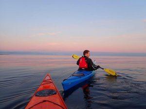 kayaking in the falklands