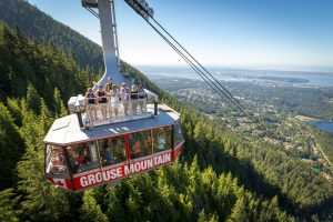 Grouse Mountain Skyride: adventurous things to do in vancouver