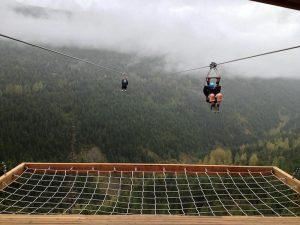 ziplining best adventurous things to do in British Columbia