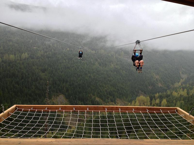 ziplining best adventurous things to do in British Columbia