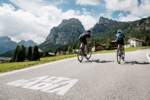 Cycling through the Dolomites