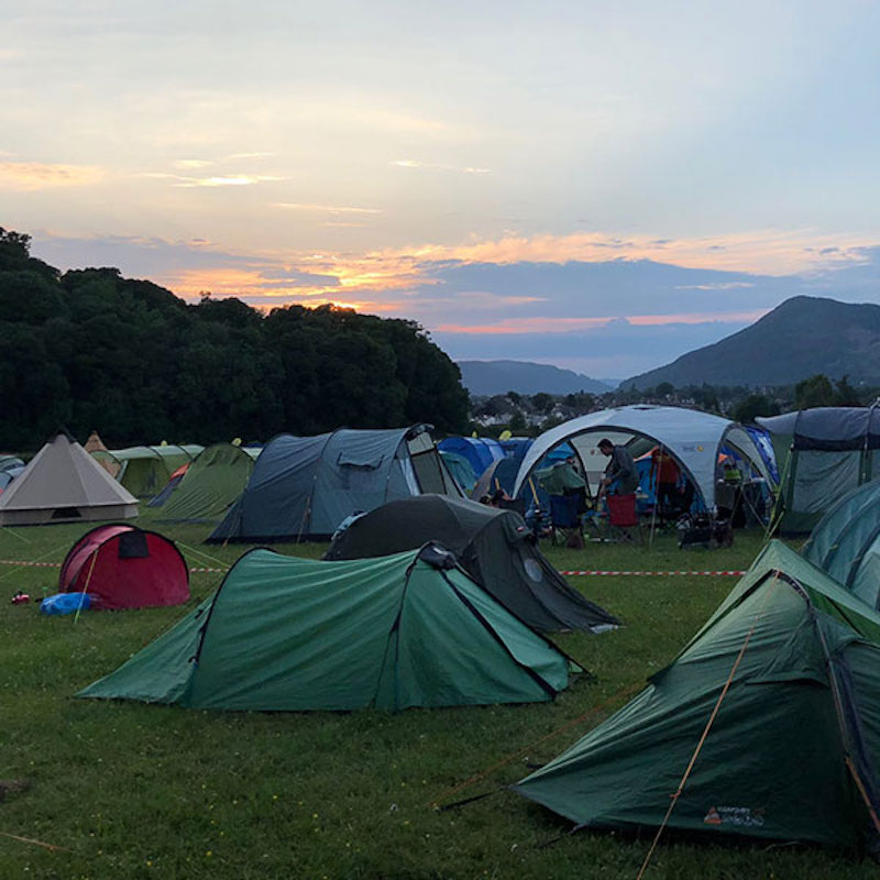 camping keswick mountain festival