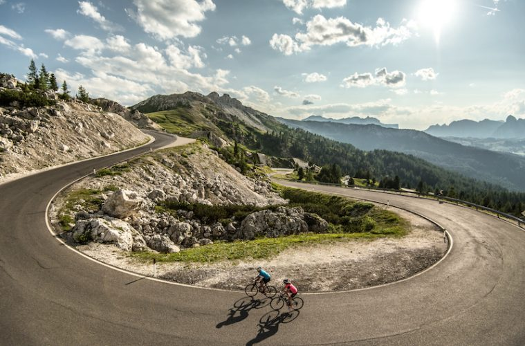 Cycling in Alta Badia, the Dolomites