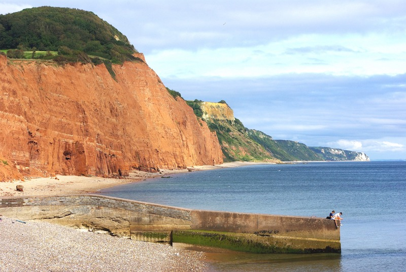 jurassic coast sidmouth to beer best walks in devon