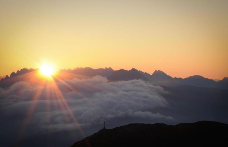 Monte Elmo at sunrise