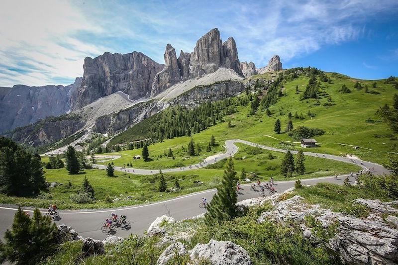 Sellaronda Bike Day in the Dolomites
