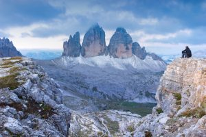 The Three Peaks in the Dolomites