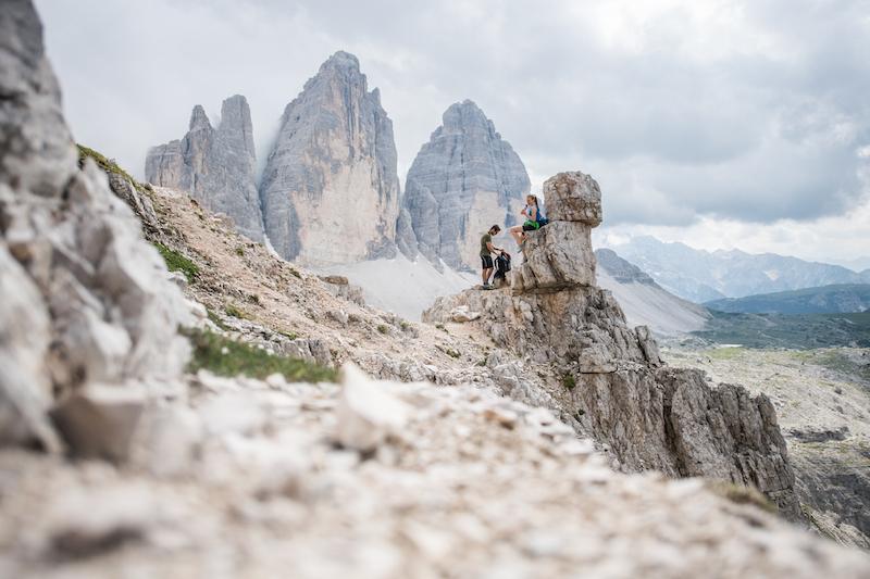 Three Peaks Dolomites hike