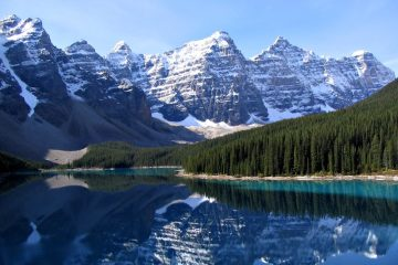 Moraine lake best adventures in the Americas