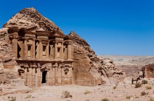 best hiking in jordan back trail to petra
