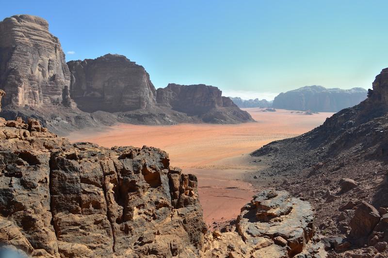 wadi rum jordan trail best hiking in jordan