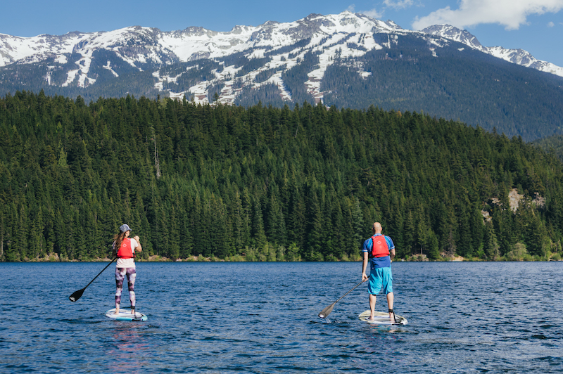 paddleboarding best things to do in British Columbia