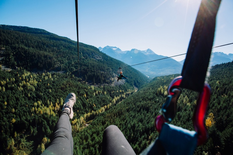 ziplining best things to do in british columbia