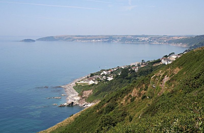 a View of Looe Bay, Cornwall
