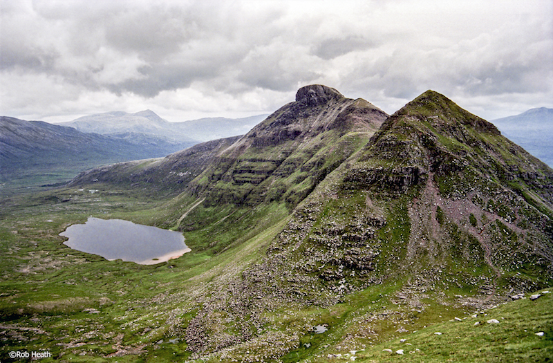 view from stac pollaidh, one of the best day hikes in Scotland