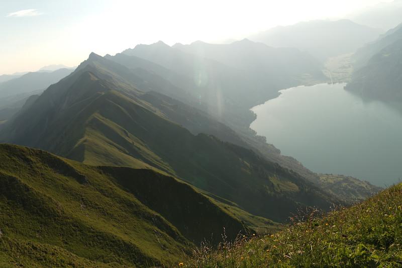 The beautiful augstmatthorn ridge walk