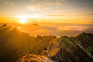 Nature puts on a show on the Brienzer Rothorn hiking route, one of the best hikes in Bern, Switzerland