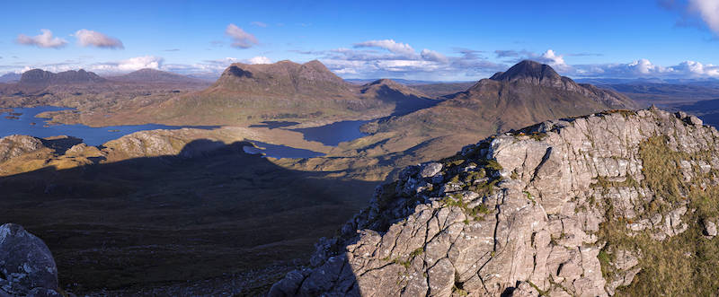 view from Quinaig, on of the best hikes in scotland